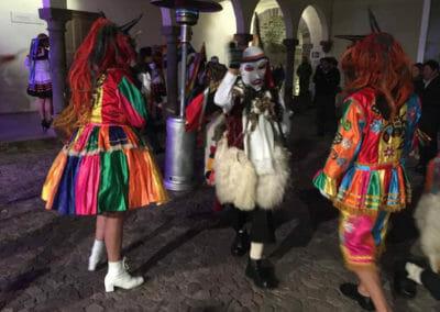 Dinner Parade in Cusco