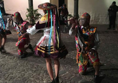 Dinner Parade is Cusco
