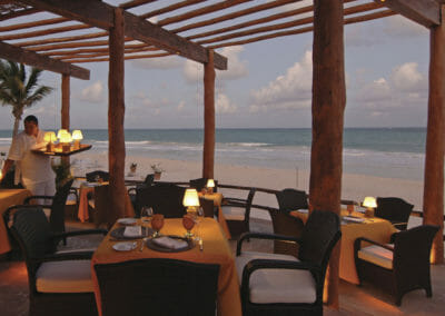 Belmond Maroma outdoor dining room
