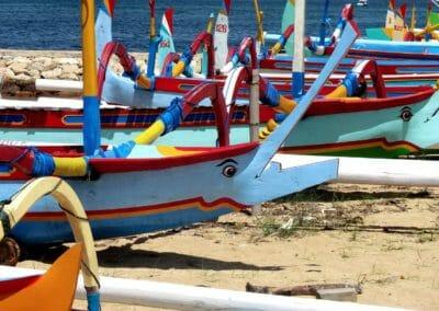 Balinese fishing boats