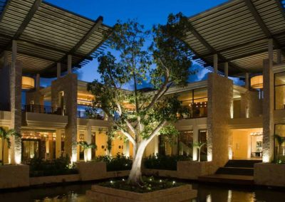 Resort Lobby, Banyan Tree Mayakoba, Mayan Riviera