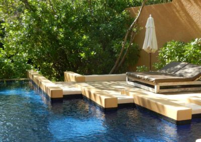Bliss Pool Villa Plunge Pool, Banyan Tree Mayakoba, Mayan Riviera