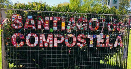 Entrance to the city of Santiago de Compostela - FB