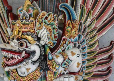 Hand carved Indonesian Garuda