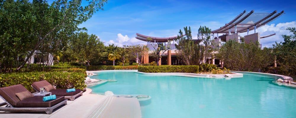 Main Pool - Banyan Tree Mayakoba, Mayan Riviera