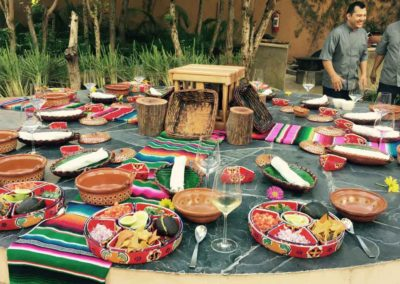 """Make it Mayan"" Pop-up Party – Banyan Tree Mayakoba, Mayan Riviera"