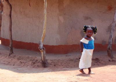 Mukuni child, Mukuni Village, Zambia