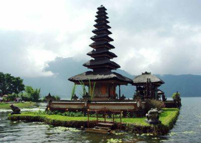 Pura Ulun Danu Beratan, or Pura Bratan, is a major Shaivite water temple on Bali, Indonesia.