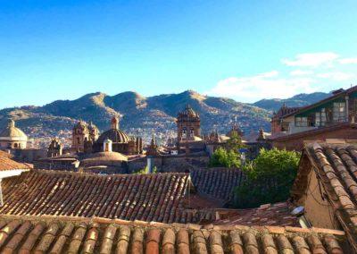 Rooftops, Cuzco, Peru
