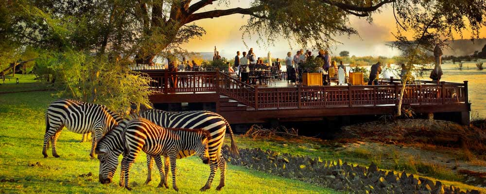 Sun Deck, Royal Livingstone Hotel, Zambia