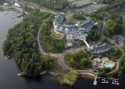 Aerial view JW Marriott The Rosseau Muskoka Resort & Spa