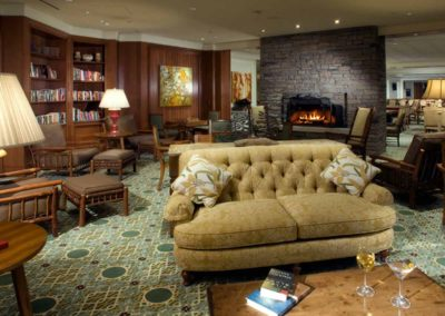 The Library, JW Marriott The Rosseau Muskoka Resort & Spa