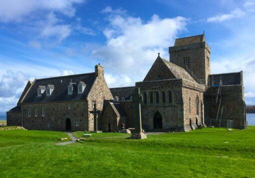 Scotland Isle of Iona, Iona Abbey