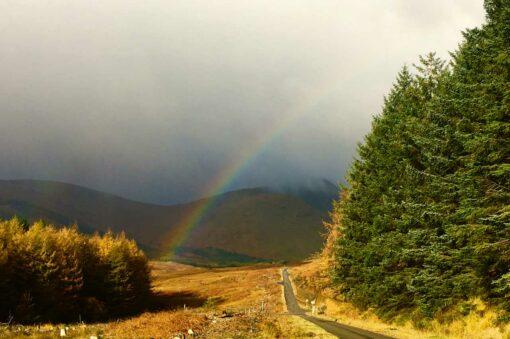 Scotland Rainbow on Isle of Mull