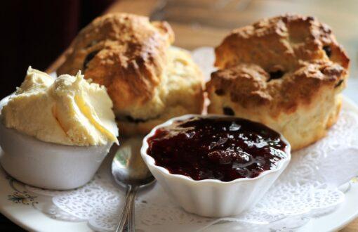 Scotland Scones and Clotted Cream