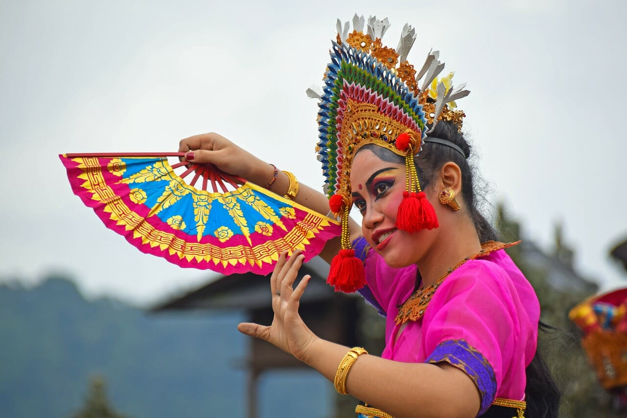 Female Balinese Dancer