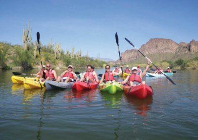 Kayaking the Verde River, Arizona