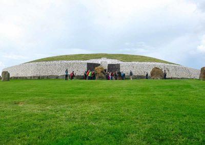 Newgrange prehistoric monument, Ireland