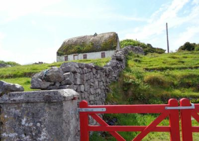 Thatched Cottage, Inis Mor, Aran Islands