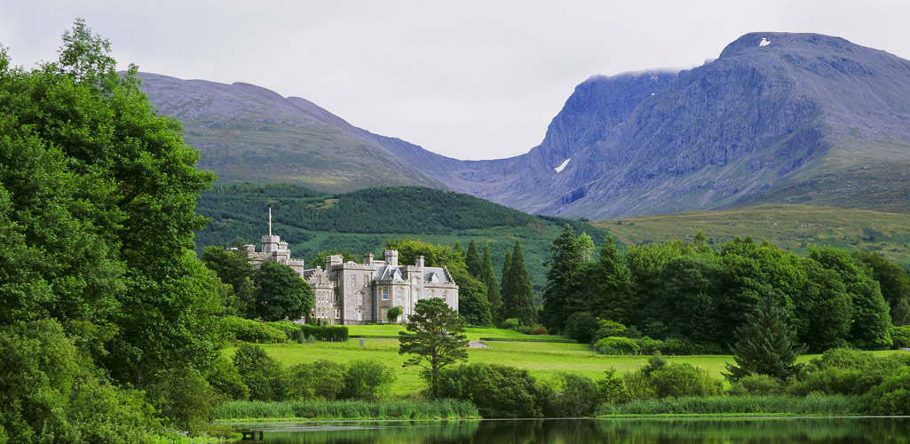 Inverlochy Castle Hotel on the Isle of Skye