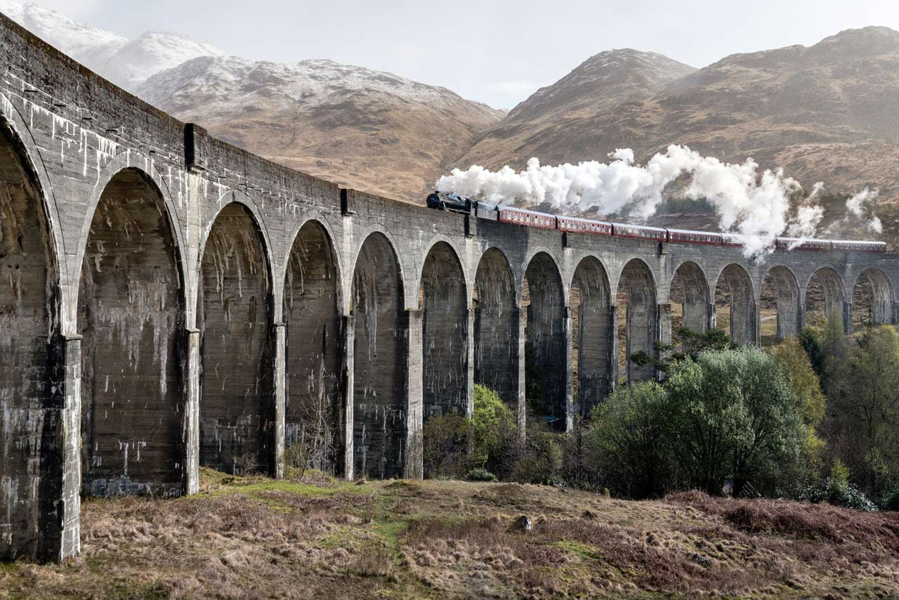 Scotland Jacobite Train
