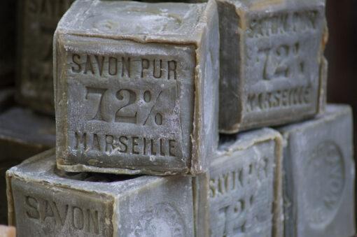 Marseilles soap, France