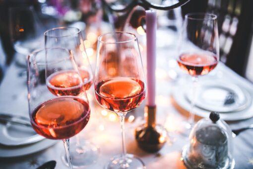 Rose wine, France