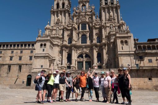 Perfect Group Cathedral Shot - Camino, Spain