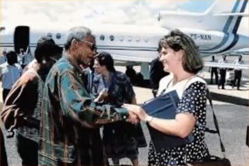 Zelda La Grange, Nelson Mandela's personal aid