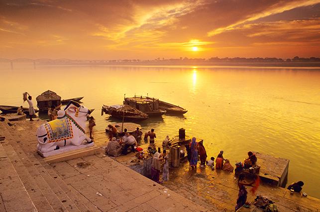 Varanasi River Ganges