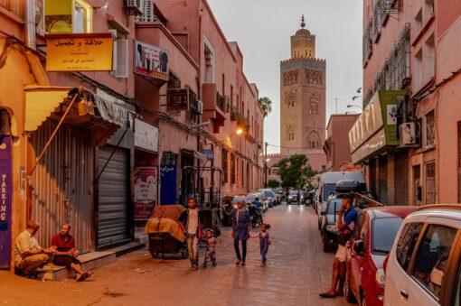 Koutoubia Mosque of Marrakesh