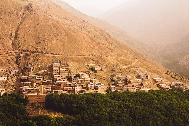 Imlil, Atlas Mountains Morocco
