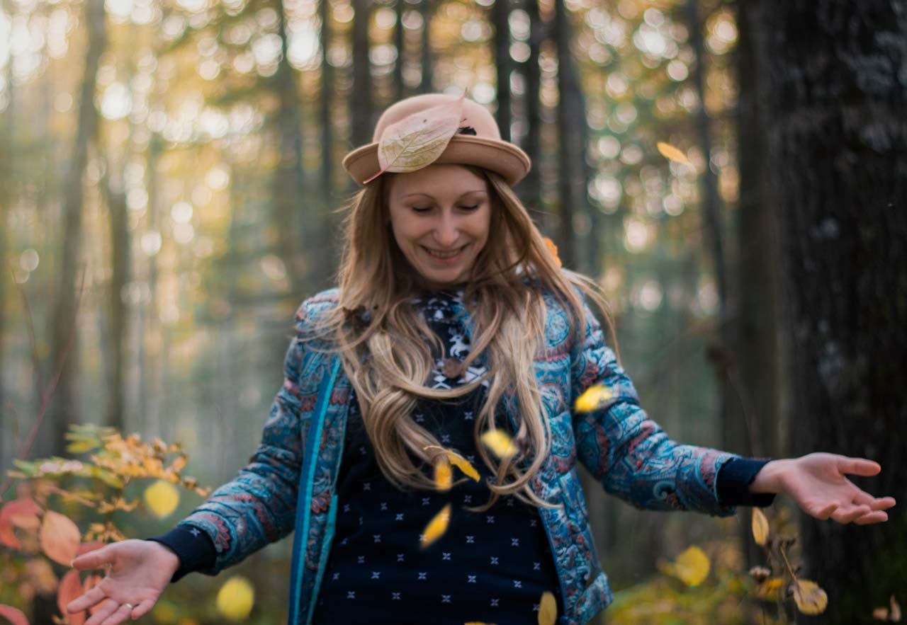 Fall Forest Bathing