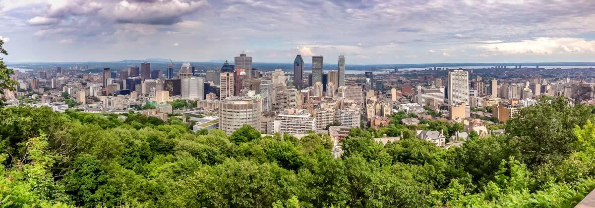 panoramic view of montreal-GEHKRZ5